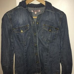 Juicy Couture Denim Shirt Small